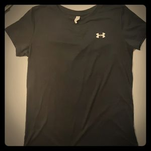 Under Armour black Heat Gear Short Sleeve T-shirt